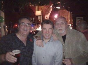 me, Steve Sale, Freddy Axon (Twisted Wheel)