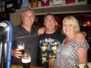 Wishing Well Reunion 2010, (Bryan Jary, me, Linzy Sheldon R.I.P.)
